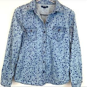 Old Navy Denim Shirt with Stars